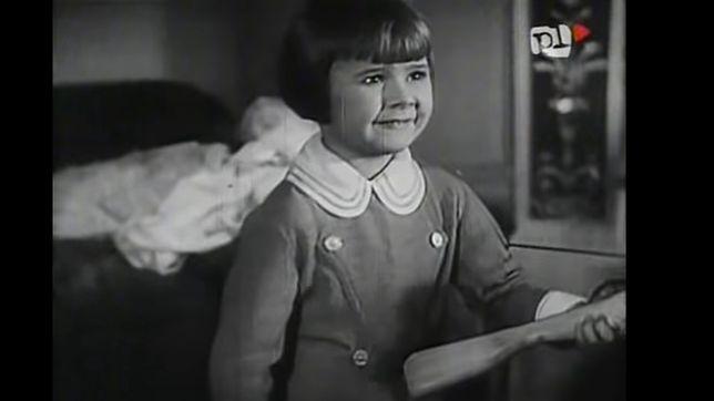 """Lala Górska w filmie """"Jego wielka miłość""""."""