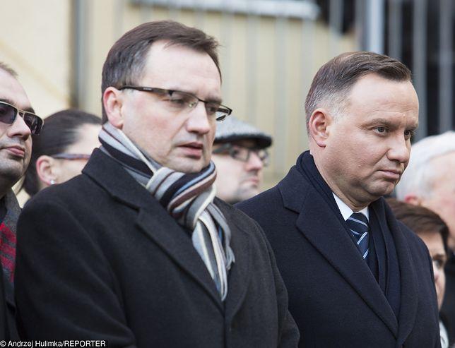 """""""Iustitia"""" wystosowała apel do prezydenta Andrzeja Dudy i ministra sprawiedliwości Zbigniewa Ziobro"""