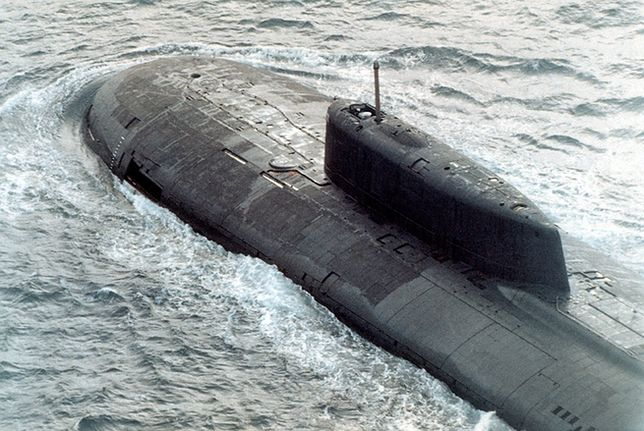 Pożar na remontowanym okręcie podwodnym z napędem atomowym w Rosji