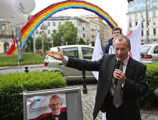 Michał Marusik, europoseł partii Korwin-Mikkego: syn był mi wdzięczny za klapsy