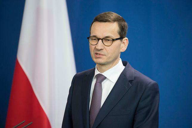Premier Mateusz Morawiecki znowu o ustawie o IPN. Udzielił wywiadu amerykańskiemu portalowi
