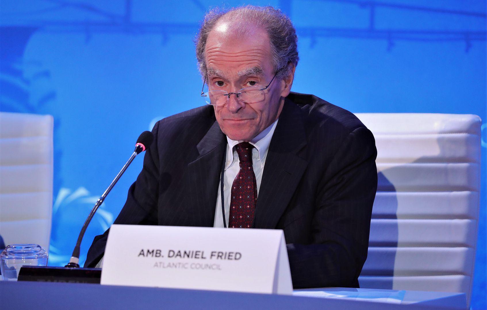 Daniel Fried, b. ambasador USA w Polsce, 2017 r., Nowy Jork, USA