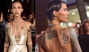 Ruby Rose: jej tatuaże szpecą czy dodają uroku?