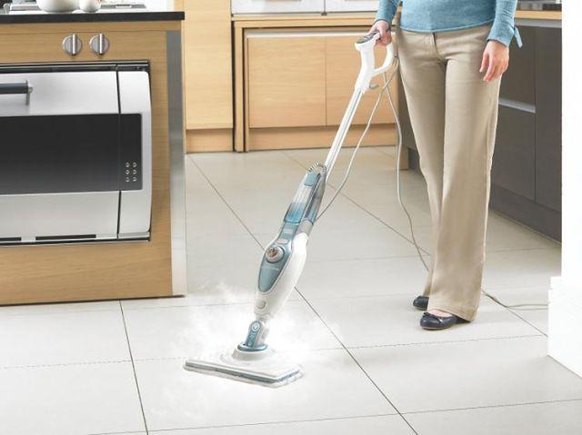 Black & Decker Steam-mop - dezynfekowanie powierzchni bez użycia detergentów