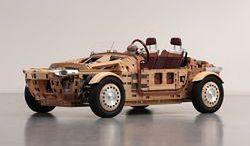 Setsuna: niecodzienny koncept wykonany z drewna