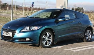 """Test: Honda CR-Z - Pierwsza """"sportowa"""" hybryda"""