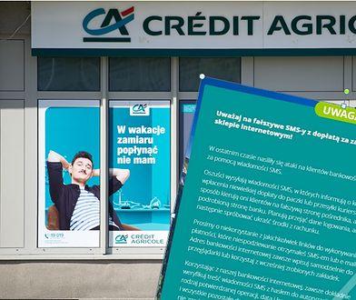 Credit Agricole ostrzega swoich klientów przed oszustami