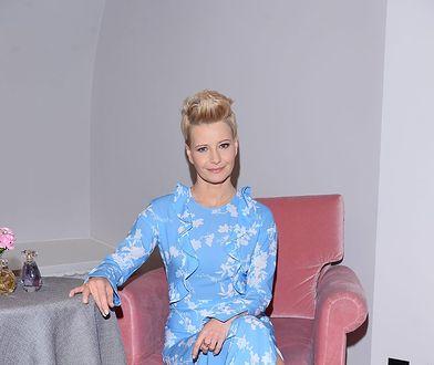 """Małgorzata Kożuchowska na konferencji """"Avon"""". Aktorka poczuła wiosnę!"""