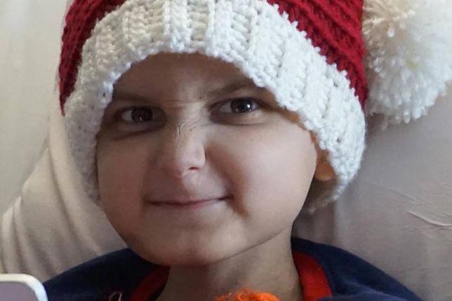 Jacob miał 9 lat i walczył z rakiem mózgu