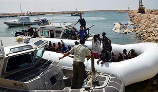 Łódź z migrantami zatonęła u wybrzeży Libii