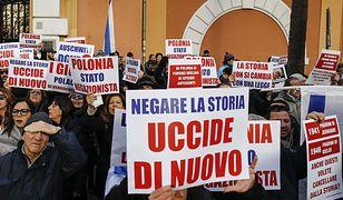 Manifestacja w Rzymie