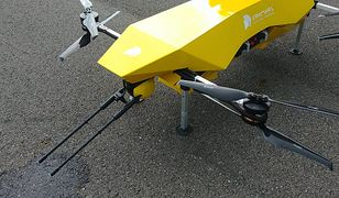 Dezynfekcja dronem. Urząd testuje nową technologię