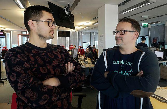 Grzegorz Burtan i Jacek Frączyk