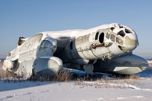 Jedyny ocalały egzemplarz - a raczej to, co z niego zostało - znajduje się obecnie na cmentarzysku samolotów pod Moskwą