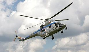 Mandat z helikoptera
