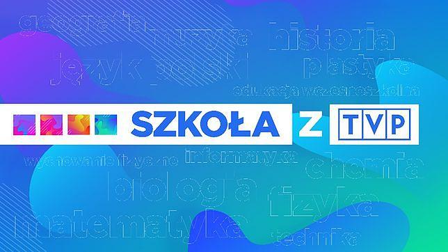 """""""Szkoła z TVP"""" jest nadawana codziennie na czterech stacjach Telewizji Polskiej"""