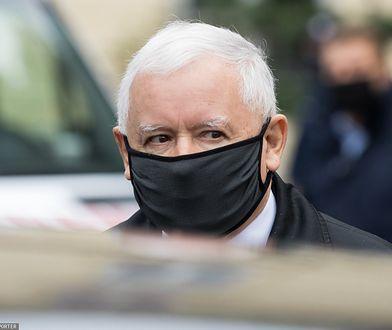 Prezes PiS Jarosław Kaczyński trafił na autokwarantannę
