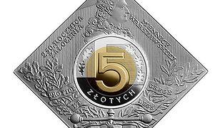 Oto nowa moneta NBP w kształcie kwadratu