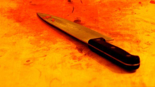 Z nożem na matkę. Krwawa awantura w Lublinie
