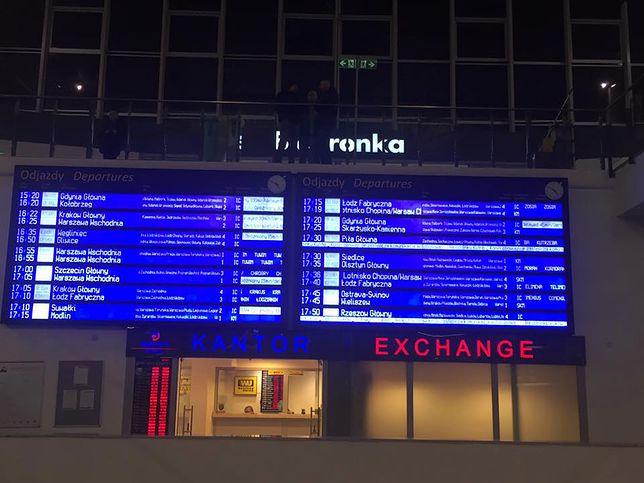 Duże opóźnienia są na trasie z Warszawy do Radomia