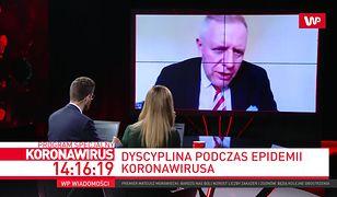 Dr Michał Sutkowski apeluje o przestrzeganie wytycznych. Mówi, co z maseczkami ochronnymi