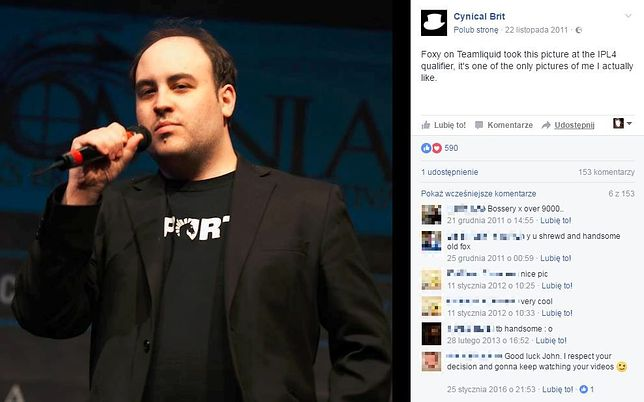 John Bain, czyli TotalBiscuit, The Cynical Brit