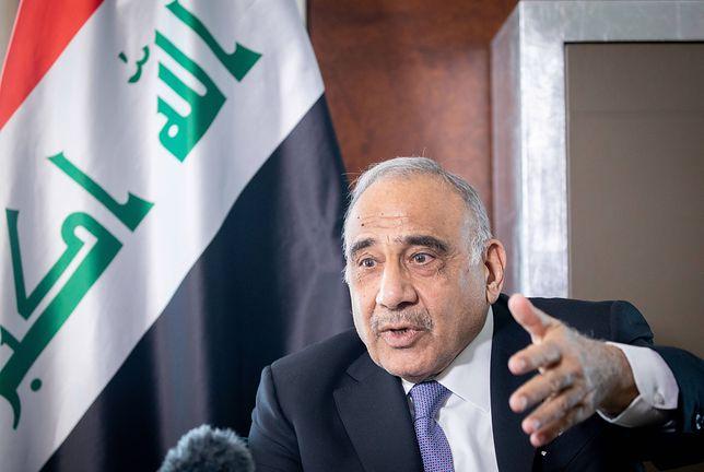 Premier Iraku Adil Abd al-Mahdi