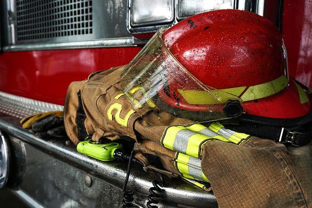 Bieruń: pożar w zakładzie produkującym materiały wybuchowe