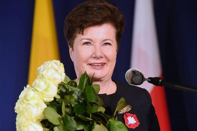 Hanna Gronkiewicz-Waltz zabrała głos o wspólnym marszu
