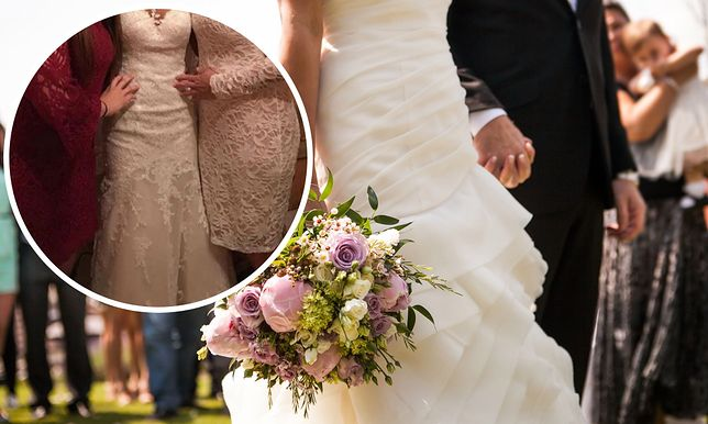 Suknia ślubna panny młodej