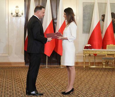 Prezydent Andrzej Duda powołał Danutę Dmowską-Andrzejuk na minister sportu