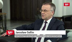 """""""Klaudia Jachira to posłanka, tak?"""". Konsternacja w studiu. Jarosław Sellin zaskoczył dziennikarza"""