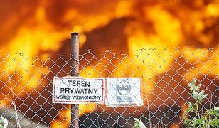 Pół miliona ton toksycznych odpadów pochowano pod ziemią w Zgierzu. Obok są dwa inne składowiska - jedno z nich płonęło w ubiegłym roku