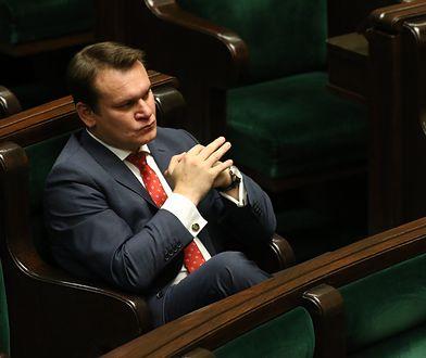 Dominik Tarczyński wspierał oskarżonych muzyków