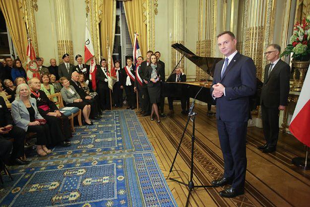 Prezydent Duda odznaczył zasłużonych dla Polonii