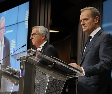 Na kończącej unijny szczyt konferencji prasowej Donald Tusk odniósł się do swojego tweeta