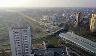 Warszawa. Dwie kolizje naS8. Korek ma aż 10 km