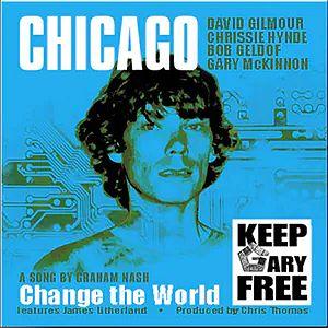 "Okładka singla ""Keep Gary Free"""
