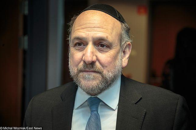 Pod oświadczeniem podpisał się m.in. naczelny rabin Polski Michael Schudrich
