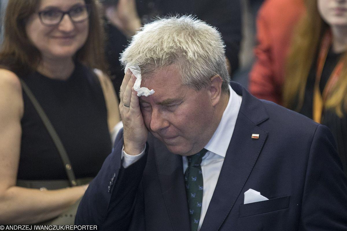 Wybory do Parlamentu Europejskiego 2019. Nerwowa noc Ryszarda Czarneckiego. Na włosku wisiało 1,5 mln zł