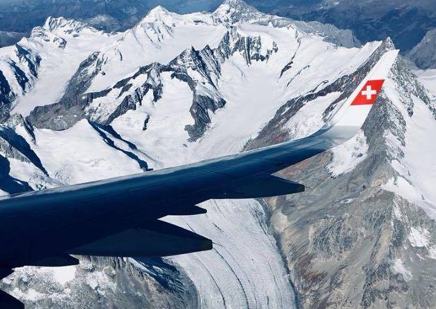 Wycieczka nad Alpami.