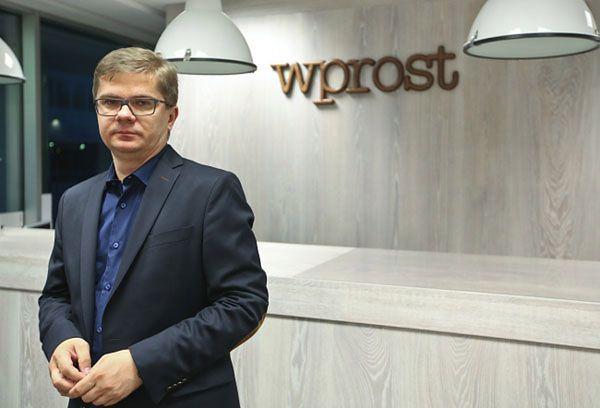 """Redaktor naczelny """"Wprost"""" Sylwester Latkowski"""