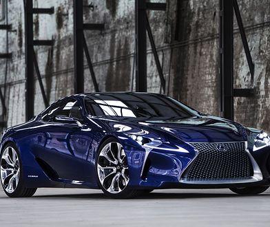 Wizja Lexusa LF-LC