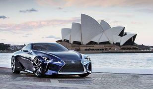 Tak będzie wyglądał Lexus LF-LC?