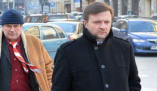 Mateusz Piskorski (z prawej)