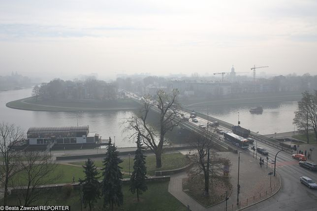Na południu Polski smog osiągnął stany alarmowe