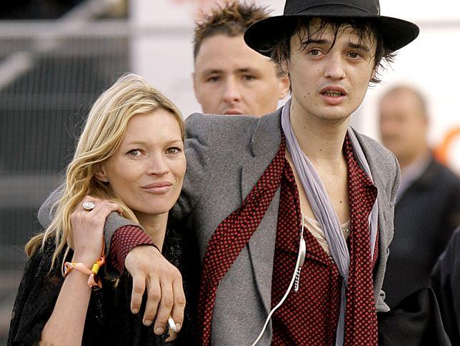 Pete Doherty, były partner Kate Moss, od lat się stacza