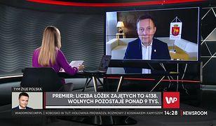 """Warszawa w strefie żółtej. Paweł Rabiej: """"możemy zmierzać w kierunku strefy czerwonej"""""""