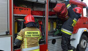 Mazowsze. Strażacy pojechali pomóc mieszkańcom. Podczas akcji skradziono im sprzęt