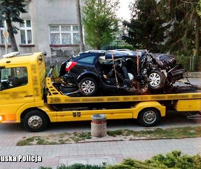 Do wypadku doszło na drodze wojewódzkiej nr 156 na wysokości Wielisławic w województwie lubuskim